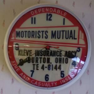 Motorist Mutual Clock
